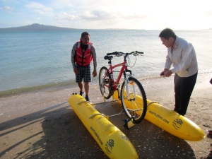 Bicycle Boat at Mission Bay