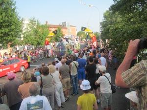 Start in Givors; Tour de France 2013