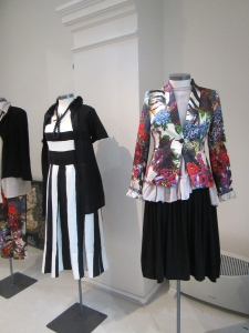 Some of the terrific ensembles by Trelise Cooper, Aukland designer