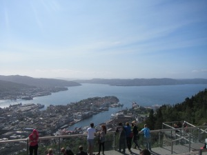 View of Bergen from Floyen