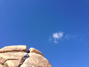 Marcos climbing Filch.