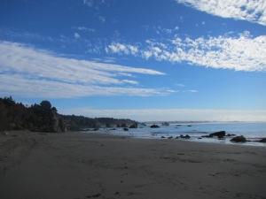 Old Home Beach in Trinidad, California