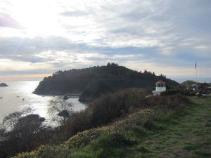 View of Trinidad Head from Memorial Lighthouse