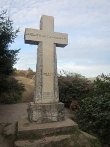 cross at Trinidad head