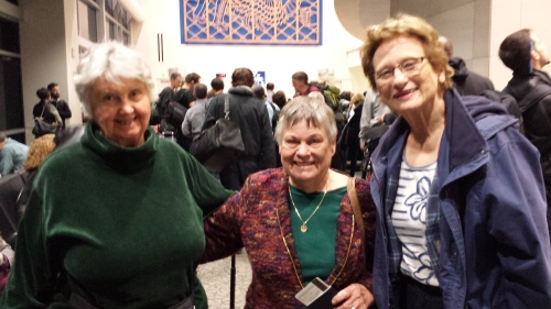 Three of the Crazy Eights: friends for 60 years since Aviation Club at Santa Rosa Junior College