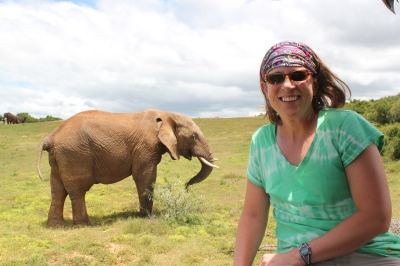 Mara and elephant