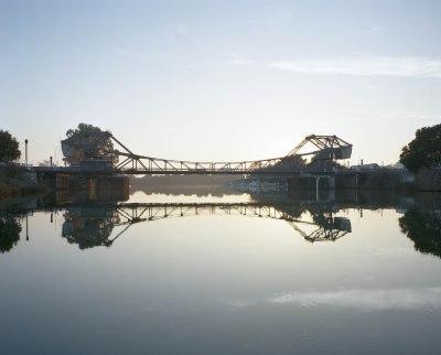Bonus Photo: Walnut Grove bridge (in color).