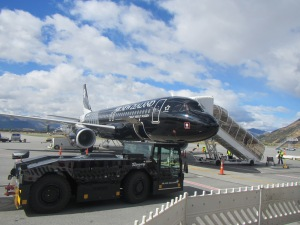 "Whimsical Air New Zealand airplanes include ""Crazy About Rugby"""