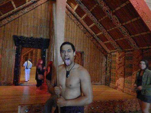 Maori performer