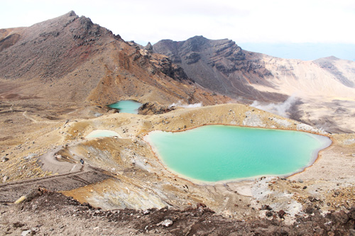 The Emerald Lakes (Tongariro Alpine Crossing)