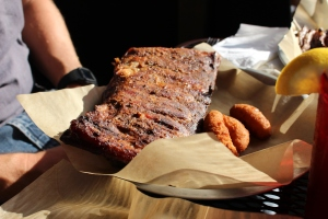 Ribs at Louella's Bar-B-Que