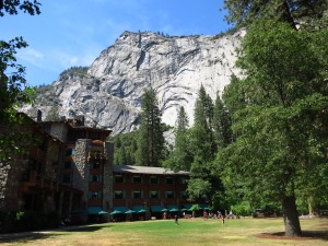 Ahwahnee Hotel and Royal Arches
