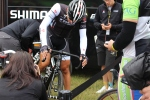 Cancellara preparing for Stage 2 in 2014