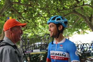 Kiwi cyclist Jack Bauer for Garmin-Sharp