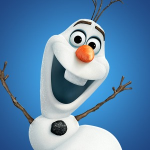 Disney's Frozen animated fairy tale stars Olaf the snowman.