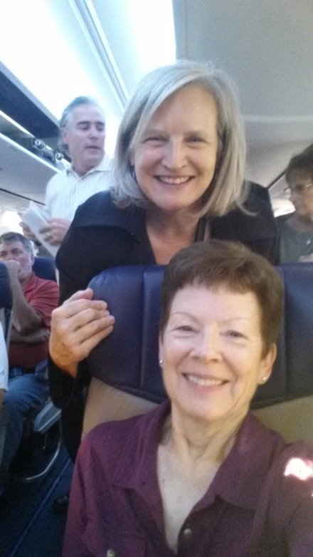 American Julie and Auntie J on Southwest