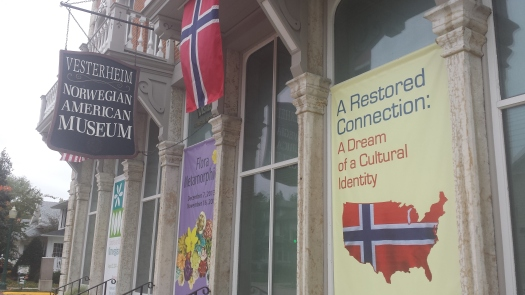 A wonderful gem of a museum on the Norwegian immigration experience.