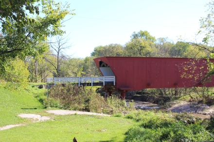 The Roseman Bridge starred in the movie Bridges of Madison County.