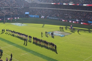 National Anthems in Soldiers Field