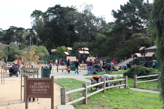 Children's playground at Golden Gate Park