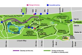 San Francisco Golden Gate Park Map