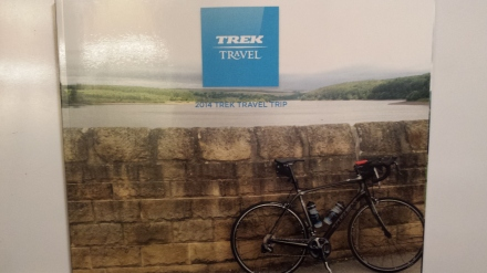 Complimentary photo book of Tour de France adventure in Yorkshire