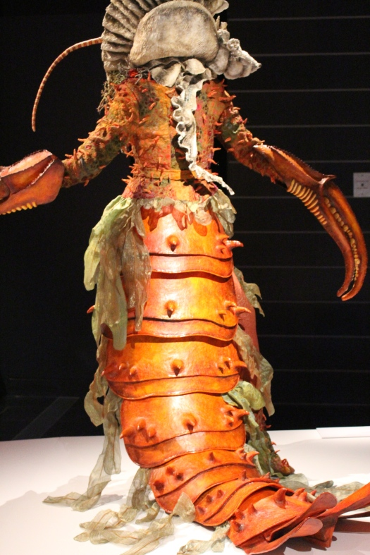 The backside of a crayfish dress.