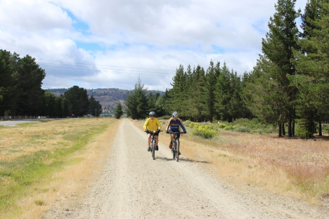 The Otago Central Rail Trail is Grade 1 (easiest) most of the way with a little Grade 2.