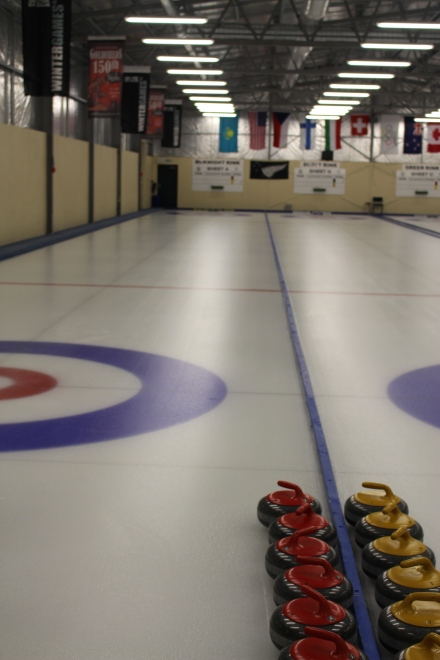 Indoor Curling Rink in Naseby
