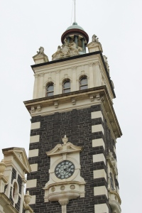 Dunedin Railway clock tower.