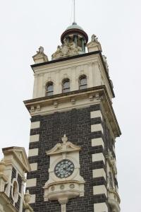 Dunedin Railway clock tower.