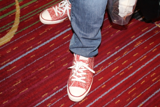 Converse makes knit sneakers! Inspiration is everywhere including other knitters' feet.