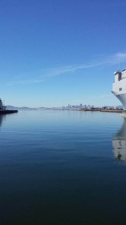 Beautiful view of San Francisco from Alameda