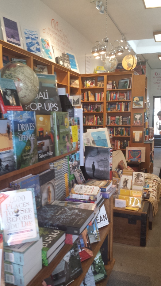 Specialty travel bookshop at 8375 West Third Street (across from Joan's on 3rd), Los Angeles