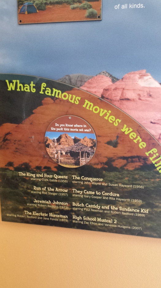 If you think Snow Canyon State Park looks familiar it is probably because it has been used as the setting for many popular films.