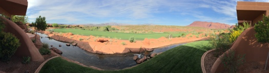 golf course at Inn at Entrada