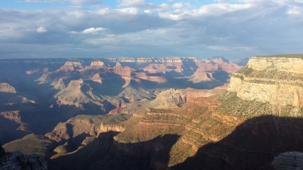 Sunset: I have so many pictures on my phone of the Grand Canyon that it is a huge challenge to select photos for this post.