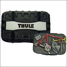Thule bike case allows you to ship your bike safely.