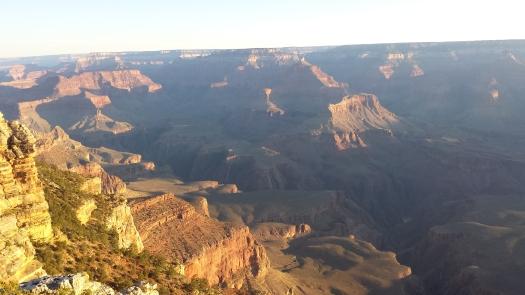 The sunrise illuminates an already gorgeous canyon to new heights of breathtaking.