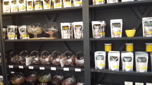 Quin is a small store front and features hand made candies and original recipes.