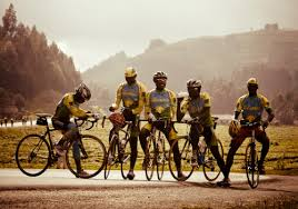Rwandan cycling team