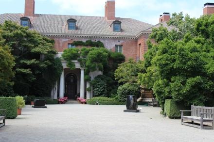 Filoli home entrance