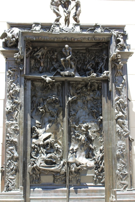Rodin's gates