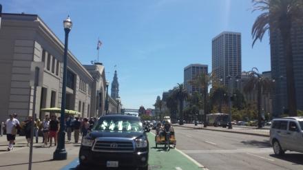 San Francisco Embarcadero near Ferry Building
