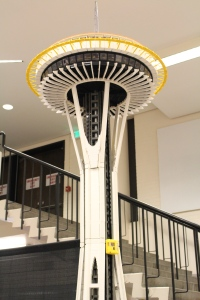 Seattle Space Needle in LEGO