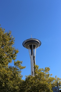 Actual Seattle Space Needle