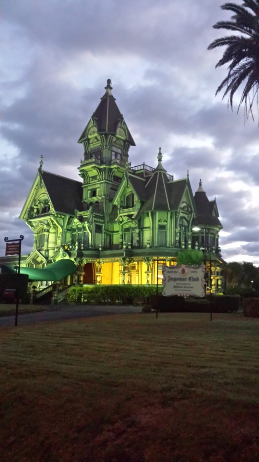 The private Ingomar Club in the Carson mansion anchors Old Eureka.