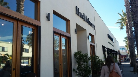 Huckleberry Cafe on Wilshire Boulevard