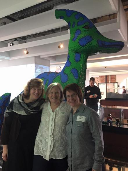 Colleen O'Roarke, Julie Pieper Spezia, Lisa Goren at Autodesk Gallery