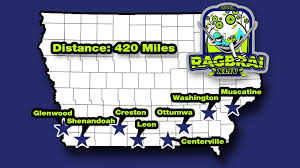 RAGBRAI 16 route